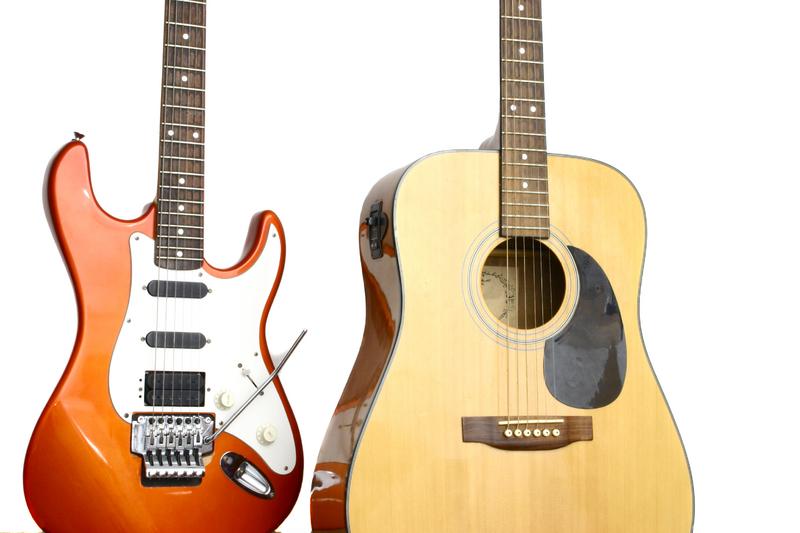گیتار آکوستیک و الکتریک